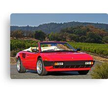 1985 Ferrari Mondial Cabriolet I Canvas Print