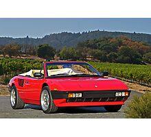 1985 Ferrari Mondial Cabriolet I Photographic Print