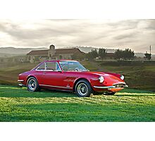 1966 Ferrari 330 GTC I Photographic Print