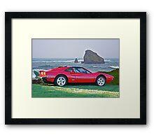 1986 Ferrari 308 GTS I Framed Print