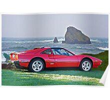 1986 Ferrari 308 GTS I Poster
