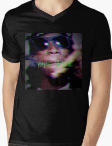 "Yung Simmie ""Glitch"" Graphic Mens V-Neck T-Shirt"