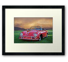 1959 Porsche 356 Cabriolet Framed Print