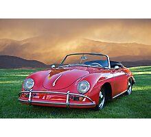 1959 Porsche 356 Cabriolet Photographic Print