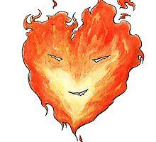 Fire Heart by FrancescoWild