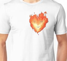 Fire Heart Unisex T-Shirt