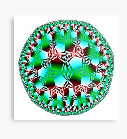 Inner Patterns Metal Print