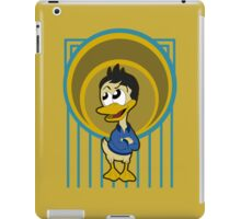Cartoon duck iPad Case/Skin