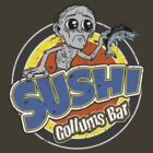 Gollums Sushi Bar - Distressed Version by Immortalized