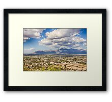"From ""A"" Mountain Framed Print"