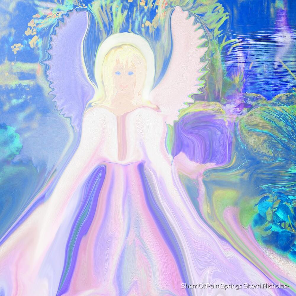 Angel of Serenity by Sherri Palm Springs  Nicholas