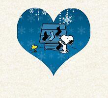 Snoopy Blue Holiday  Hoodie