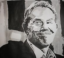 Tony Blair by Colin  Laing