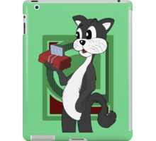 Cartoon cat with TNT iPad Case/Skin