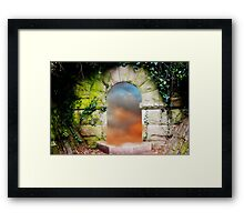 Find A Dream Framed Print