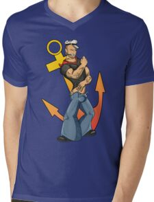 Sailor Man Mens V-Neck T-Shirt