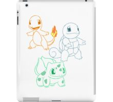 Starter Pokemon iPad Case/Skin