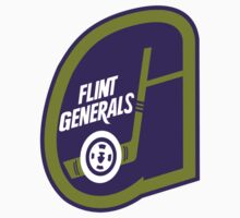 Flint Generals hockey logos T-Shirts ,Stickers by boomer321sasha