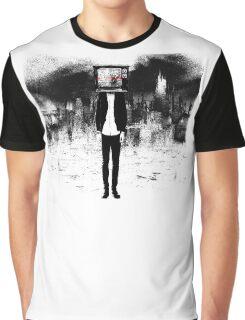 TV Head Graphic T-Shirt