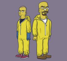 Walter White & Jesse by Simpsonized