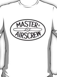 Master Airscrew Logo T-Shirt (Black) T-Shirt