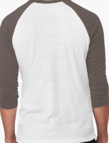 Beautiful Daughter Men's Baseball ¾ T-Shirt