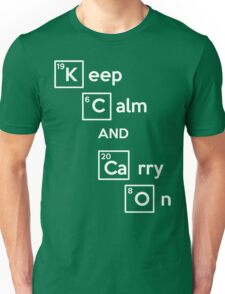 Keep Calm And Carry On (Breaking Bad) Unisex T-Shirt