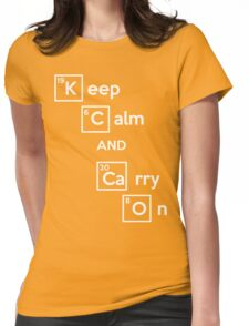 Keep Calm And Carry On (Breaking Bad) Womens Fitted T-Shirt