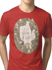 I'm Fine Tri-blend T-Shirt