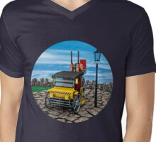 Steam Cab-Taxi  Mens V-Neck T-Shirt