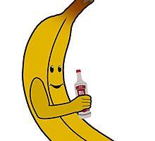 B1 - Basic banana logo by B1Coventry