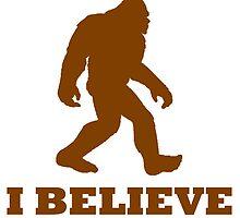 Bigfoot I Believe by kwg2200