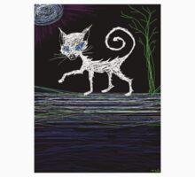 Halloween kitty cat by Tia Knight
