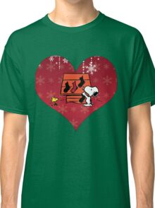 Snoopy Red Holiday Classic T-Shirt