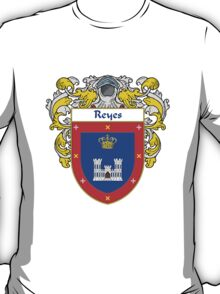 Reyes Coat of Arms/Family Crest T-Shirt