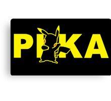 Pikachu pokemon poster Canvas Print