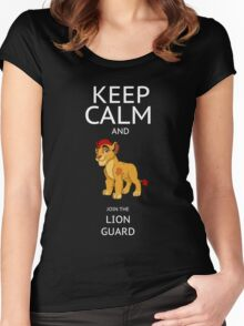 LION GUARD Women's Fitted Scoop T-Shirt