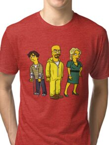 The White Family: Breaking Bad Tri-blend T-Shirt