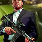 GTA V: Michael De Santa by Grinned