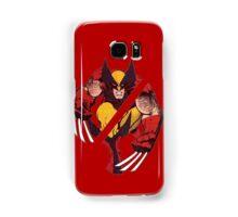 Wolverine Sliced (Red) Samsung Galaxy Case/Skin