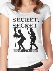 Galavant - SECRET!! Women's Fitted Scoop T-Shirt