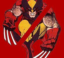 Wolverine Sliced (Red) by ProjectMayhem