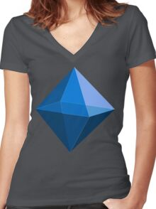 Ramiel Women's Fitted V-Neck T-Shirt