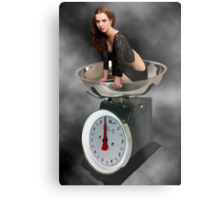 ❀◕‿◕❀ HAPPINESS IS A SCALE THAT LIES ❀◕‿◕❀ Metal Print