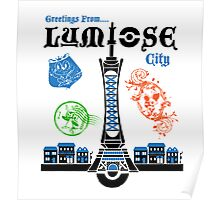 Lumiose City Poster