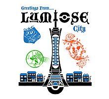 Lumiose City Photographic Print