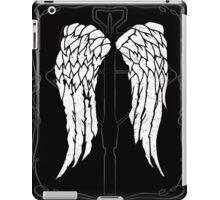 Daryl Dixon wings crossbow iPad Case/Skin