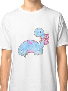 Ribbon Dinosaur Classic T-Shirt