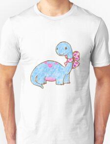 Ribbon Dinosaur Unisex T-Shirt
