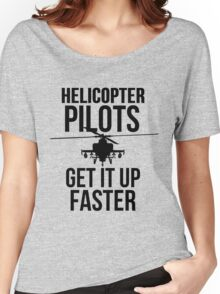 Helicopter Pilots GIUF Women's Relaxed Fit T-Shirt